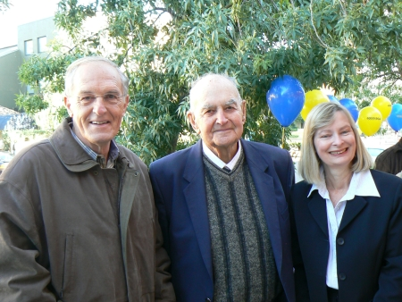 2CA's 75th Birthday: Peter Leonard, George Barlin and Cheryl McKay