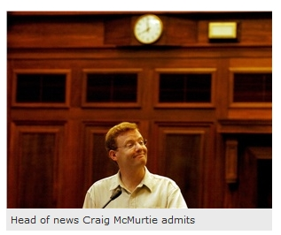 Craig McMurtie says...not much