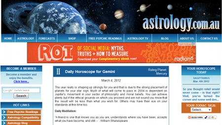 Astrology.com.au's prediction for Gemini on the 4th of March, 2012