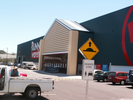 Bunnings Belconnen and a 2CC listener's ute