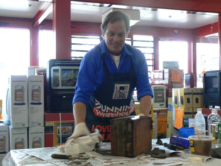 Scott McGregor at Bunnings Fyshwick