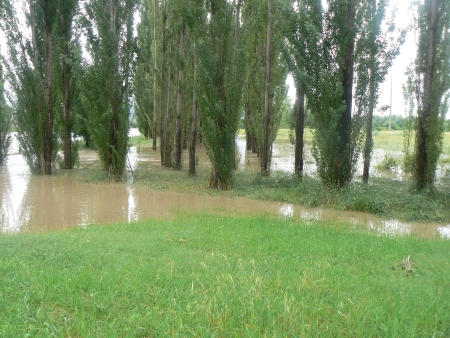 Queanbeyan Flood: Jerrabomberra Creek