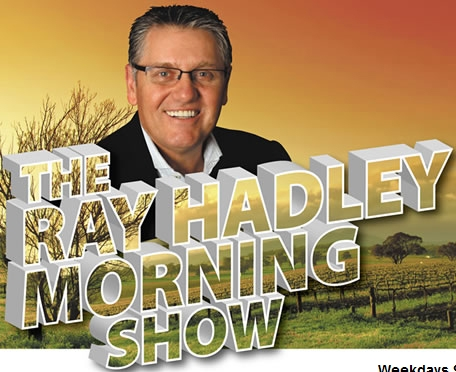 Ray Hadley wearing glasses