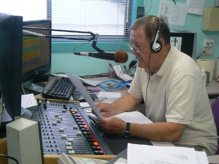 Paul Dix in the 2QN studio