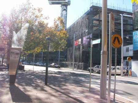 Section 84 Precinct B from Bunda Street, May 2006