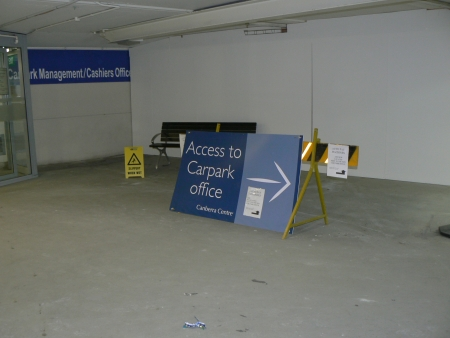 Canberra Centre Carpark, August 2006