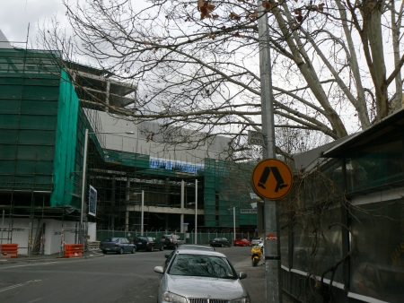 Canberra Centre Expansion, August 2006