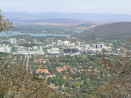 Civic, October 2006, From Mount Ainslie