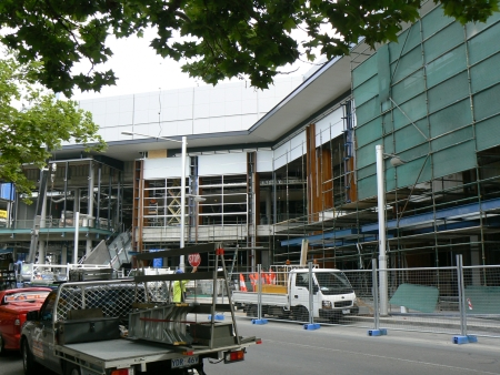 Canberra Centre Expansion, November 2, 2006