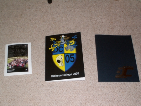 Program Guide, Yearbook & Certificate Folder