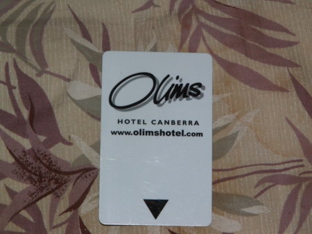 Olims Hotel Door Key