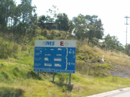 M5 Tollway fees