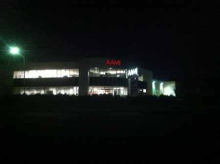 The AAMI building in Fyshwick