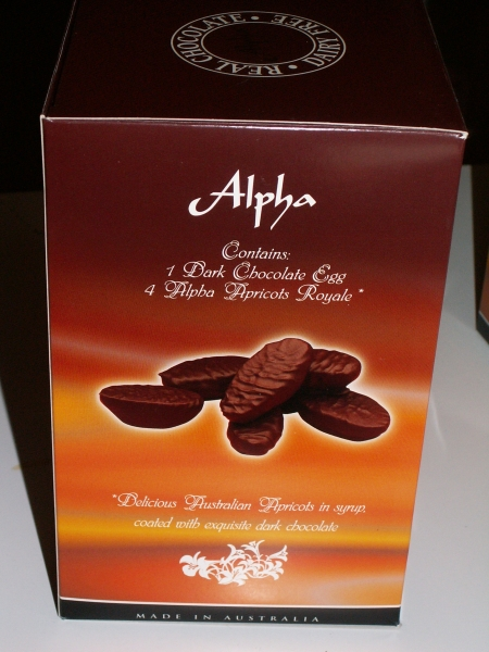 Alpha Confectionery Easter Egg box