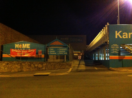 Home Hardware Karabar on the morning of March 20, 2013