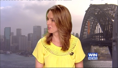 Kellie Connolly on Nine News