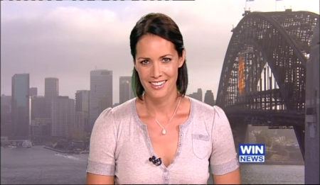 Stephanie Brantz on Nine News