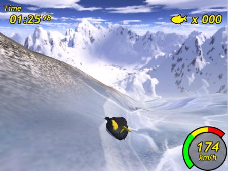 Tux Racer screenshot