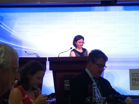Mary Kissel at the Australian National Press Club