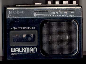 Sony Walkman WM-F57 Picture From The Web