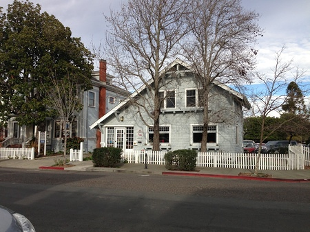 Old TWiT Cottage (aka Cavanagh Cottage) at 8 Keller St, Petaluma