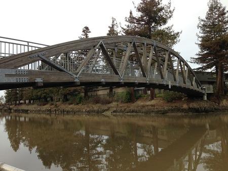 John Balshaw River Crossing Bridge, Petaluma