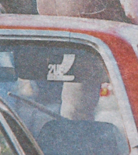 2UE logo on the cover of The Daily Telegraph, Thursday March 30, 2006