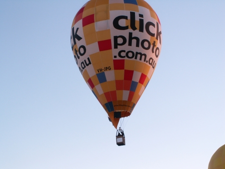 The Click Photo Balloon at the 2006 Canberra Balloon Fiesta