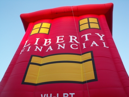 The Liberty Financial Balloon at the 2006 Canberra Balloon Fiesta