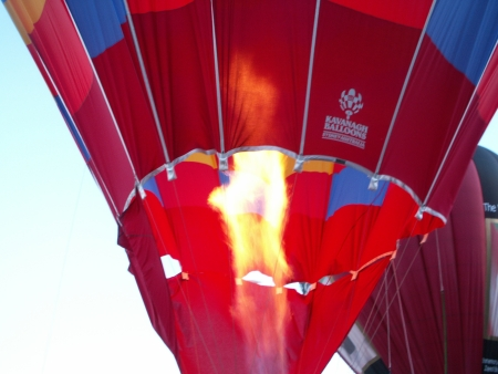 The Doma Hotels Balloon at the 2006 Canberra Balloon Fiesta