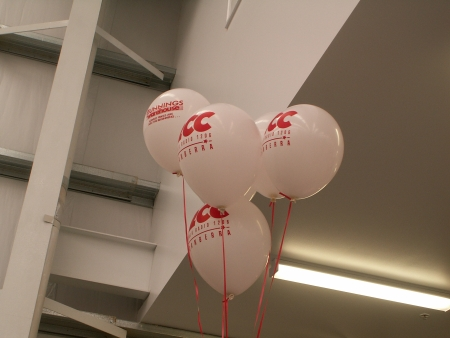 Better photo of 2CC Bunnings Balloons