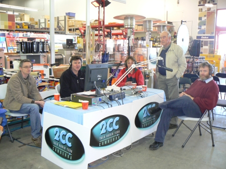 2CC at Bunnings Fyshwick: Pete Davidson, Graham Robinson, Karen and Garden Gurus