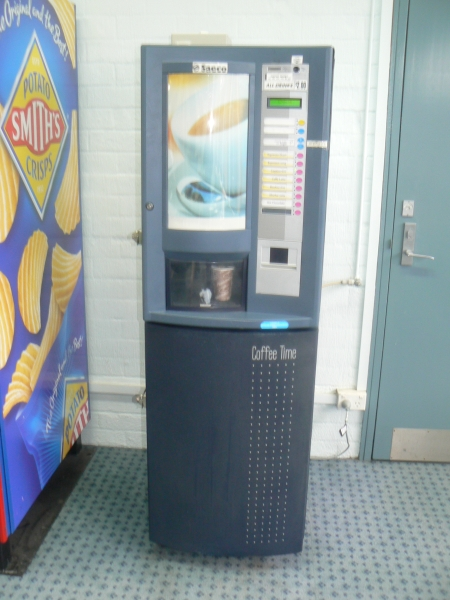 Coffee machine at the Canberra Railway Station