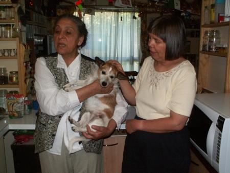 Nattie, Maria & Mum