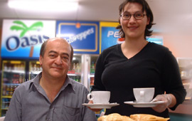 Liberty Snackbar owners John and Ornela Anastasopoulos