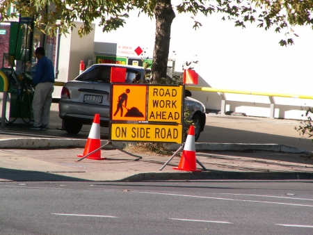 Go Traffic Signs, May 2006