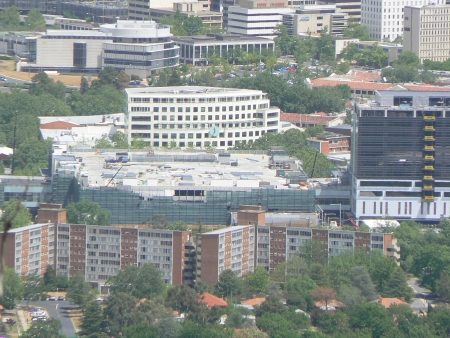 Canberra Centre Expansion, October 2006, From Mount Ainslie