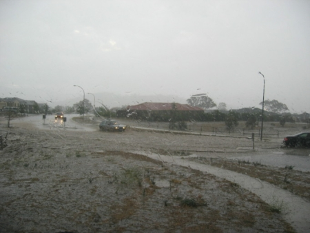 New Years Eve Storm, Canberra, 2006