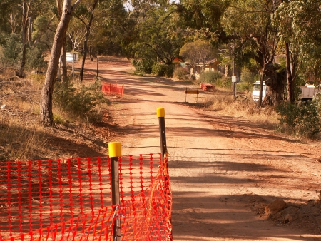 Underground Cabling on Mount Ainslie