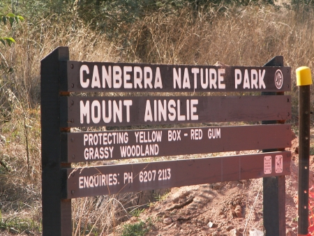Mount Ainslie of Nature Park