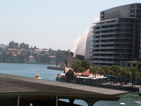 Sydney Opera House as seen from Circular Quay