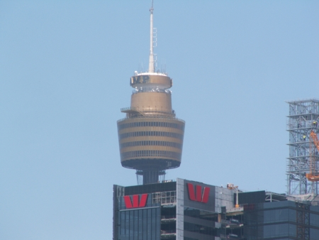 AMP Tower and the Westpac Building