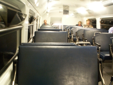 Inside Sydney Train Carriage 3911