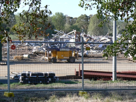 Ginninderra District High School Demolition