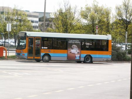 An ACTION Midi Bus