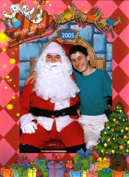 Samuel's Santa Photo for 2005