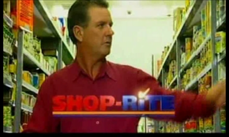 Mike Frame in Shoprite Commercial