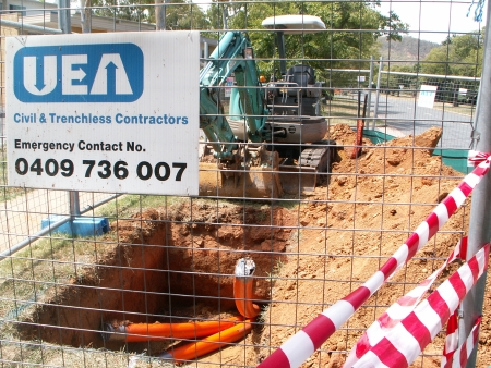 Work by UEA Civil & Trenchless Contractors