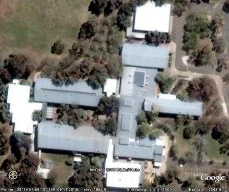 Dickson College from Space