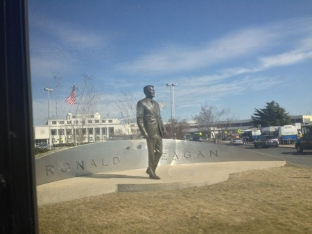 Ronald Reagan at Ronald Reagan airport